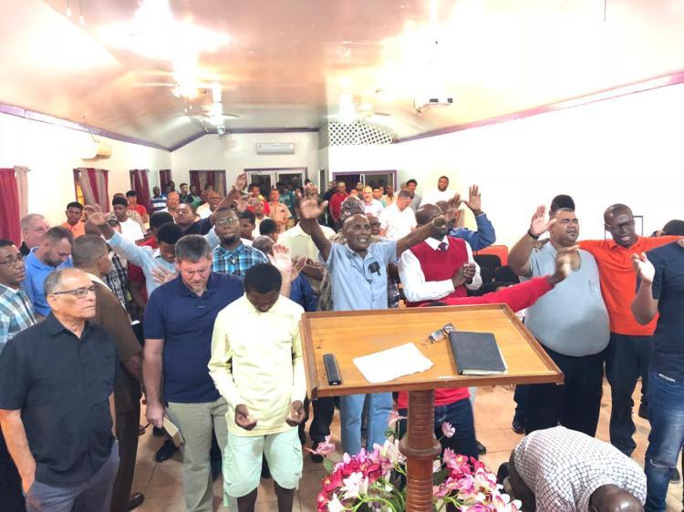 Men's Meeting January 25 (Pastor Hank's church)